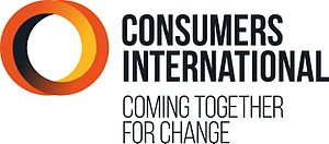 Consumers International - Image: CI Full Name Logo Strapline RBG