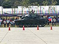 CM-11 Tank Leaving Hukou Camp Ground after Parade 20140329.jpg