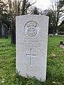 CWGC graves at Cathays Cemetery, December 2020 06.jpg