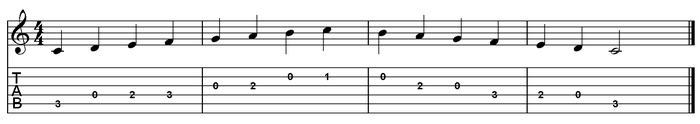 C major scale one octave (open position).png