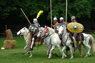 Hippika gymnasia - Reenactment of the hippika gymnasia at Carnuntum, Austria