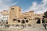 Plaza Mayor de la ciudad de Cáceres