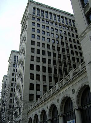 Michigan Court of Appeals - District I of the Michigan Court of Appeals is located in Cadillac Place,  a State office complex in Detroit.