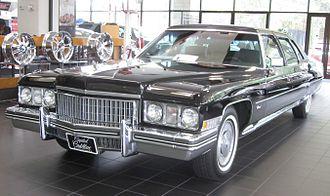 GM D platform - 1973 Cadillac Fleetwood limousine