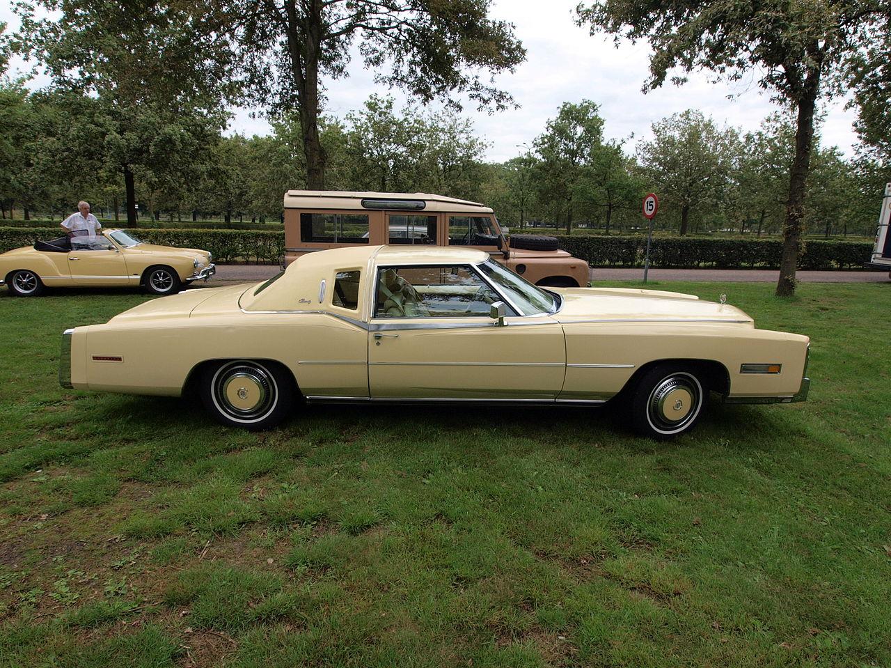 File Cadillac Eldorado 1978 At The Autotron Licence