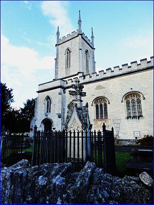 Cainscross - Image: Cainscross ... St Matthew's Church. Flickr Bazza Da Rambler