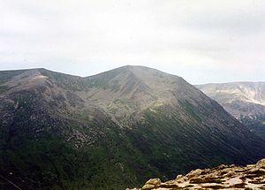 Càrn a' Mhàim - Cairn Toul seen from the summit of Carn a' Mhaim.