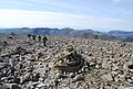 Cairns marking the way, Scafell Pike - geograph.org.uk - 1331294.jpg