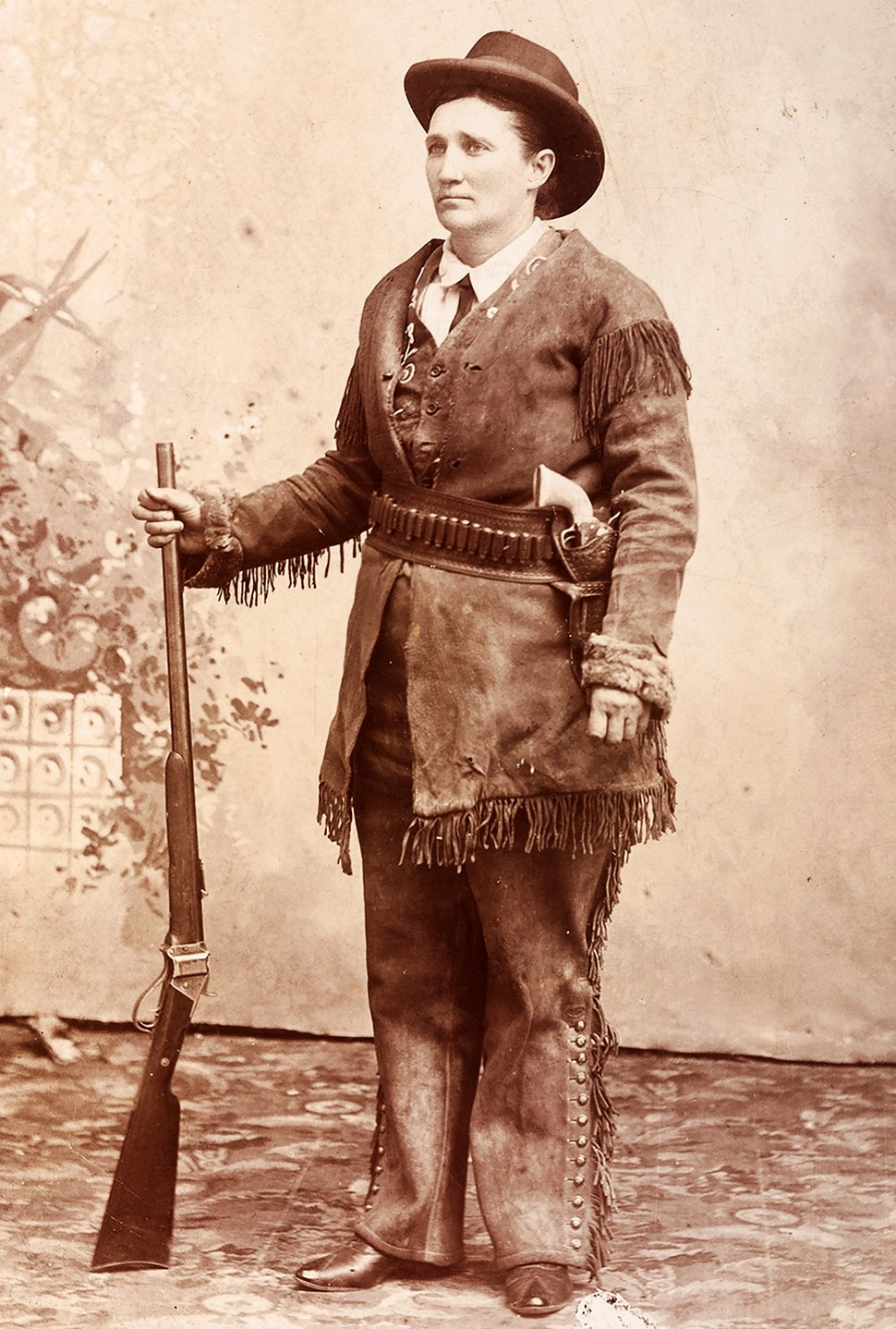 Calamity Jane by CE Finn, c1880s-crop