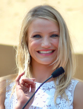 Cameron Diaz - Diaz receiving her star on the Hollywood Walk of Fame in June 2009.