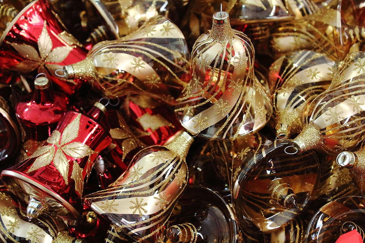 Decoraci n navide a wikipedia la enciclopedia libre for Cosas decorativas para navidad
