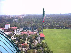Campo Marte - Campo Marte, looking towards Chapultepec