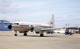 Canadair CC-109 Cosmopolitan military staff transport aircraft