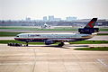 Canadian Airlines DC-10-30; C-FCRE@LHR;13.04.1996 (4845158814).jpg