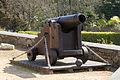 Cannon at Grève de Lecq Barracks in Jersey.JPG