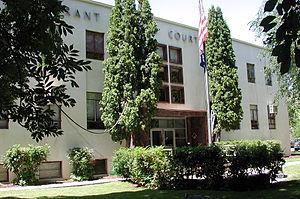 Grant County, Oregon - Image: Canyoncitygrantcourt house