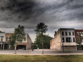 Capitol Theatre (Woodstock, Ontario) - The former Capitol Theatre site in 2011.