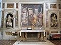 Cappella della compagnia di s. luca, int, altare, s. luca che dipinge la madonna di vasari 01.JPG