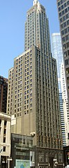 Carbide and Carbon Building viewed from the southeast