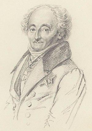 Carl Gustaf von Brinkman - Karl Gustaf von Brinkman in 1835.
