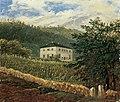 Carl Gustav Carus - Die königliche Villa in Wachwitz bei Dresden (ca. 1835).jpg