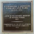 Carnegie Library Livermore plaque 3.jpg
