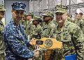 Carrier XO recognizes corpsman's heroism 130328-N-VY959-033.jpg