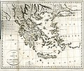 Carte de la Grèce et de l'Archipel - Bartholdy Jakob Ludwig Salomo - 1807.jpg