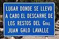 Cartel junto a la Capilla de Huacalera.JPG