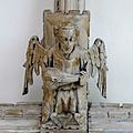 Carved figure, All Saints, North Street, York (19501020794).jpg