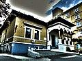 Casa G-ral Lahovary,azi corp al spitalului Cantacuzino vedere ansamblu.JPG