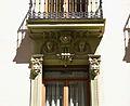 Casa de les Bruixes d'Alacant, detalls de les finestres.JPG