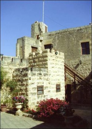 Order of Saint Lazarus (statuted 1910) - Castello Lanzun, headquarters of the Malta-Paris obedience in Malta.