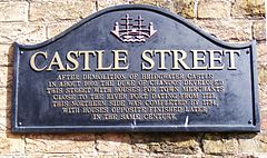 Castle Street Bridgwater sign.JPG