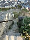 castle valkenburg - steps