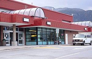 Castlegar, British Columbia - West Kootenay Regional Airport