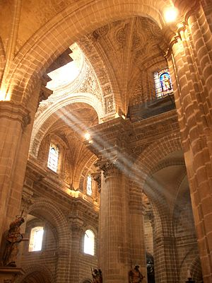 Jerez de la Frontera Cathedral - Inside