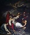 Cathédrale Saint-Étienne de Toulouse - La mort de saint Etienne par Sébastien Nicolas Frosté en 1822 PalissyPM31001487.jpg