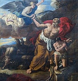 Hilaire Pader - Image: Cathédrale Saint Étienne de Toulouse Sacrifice d'Abraham Hilaire Pader