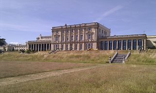 Caversham Park grade II listed English country house in the United kingdom