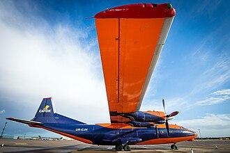 CAVOK Air - AN-12B of CAVOK Air at Brize Norton