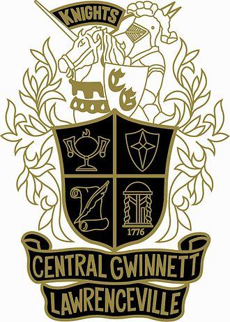 Central Gwinnett High School - Image: Cental Gwinnett crest 2