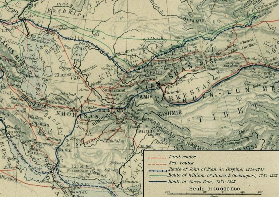 Central Asian trade routes