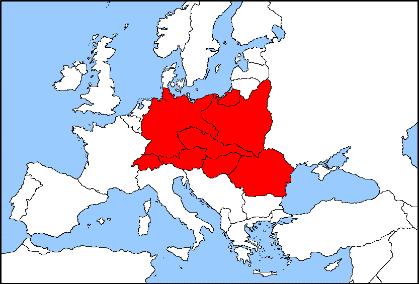 Central Europe (Geographie universelle, 1927)