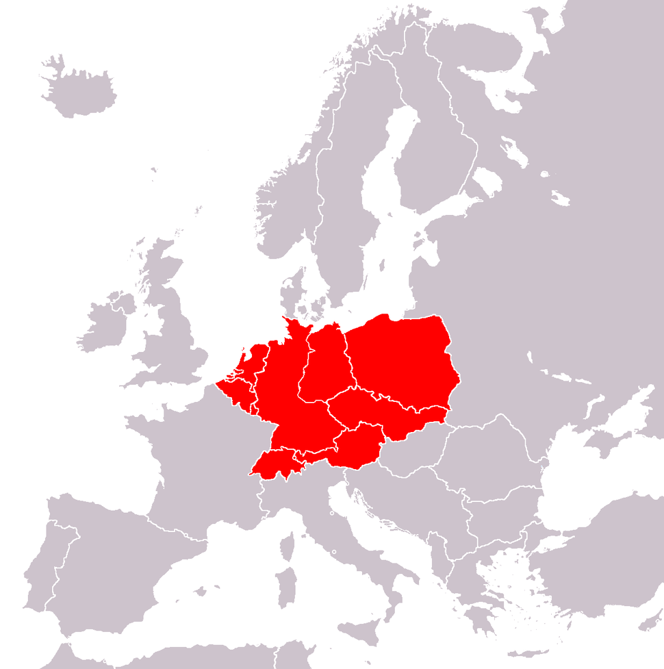 Central Europe (by E. Schenk)