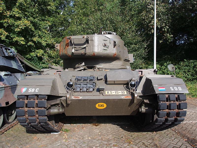 Dutch Centurion Luitenant Kolonel GPM, Cavalerie museum, Amersfoort, The Netherlands