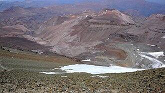 Cerro El Plomo - Image: Cerro del Plomo route