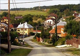 Lorinčík - Street and housing in a part of Lorinčík