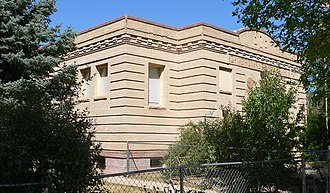 National Register of Historic Places listings in Dawes County, Nebraska - Image: Chadron Public Library from SE 1