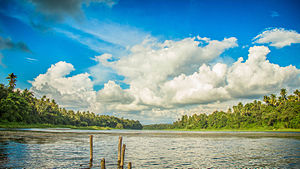 Chalakudy River - Chalakudy River anticipating the monsoons